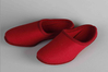 Slippers red
